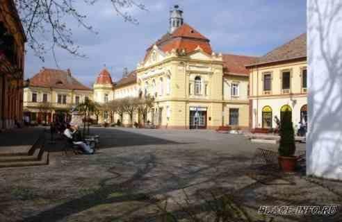 Венгрия. Крепость Сигетвар