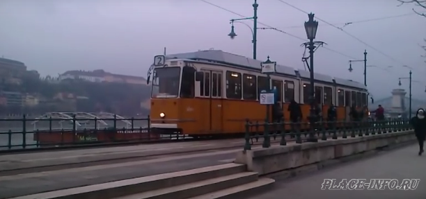 Трамваи в Будапеште